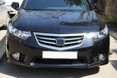 Free Black Honda Accord Details Stock Photos - 55104743