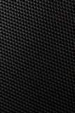 Black honeycomb background Stock Image
