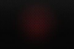 Black honeycomb background Stock Photos