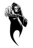 Black horror royalty free illustration