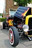 Black Hot Rod stock image