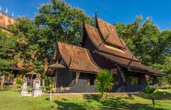 Ruean Chiang Thong Tha Thab Rung is inspired from Laos`s architecture Stock Photo