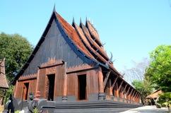 Black House known as Ban Dam or Baandam Museum Stock Image
