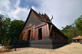 The Black House. House of National Artist Thawan Duchanee, located in Chiang Rai, North Thailand Stock Photography
