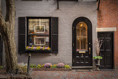 The Black House. Walking through the city you can find thees beautiful houses Royalty Free Stock Images