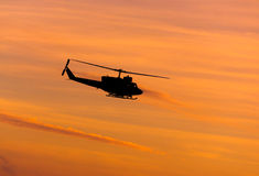 Black Huey helicopter stock photos