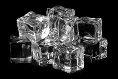 Black ice royalty free stock images