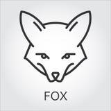 Simple fox head outline - photo#16
