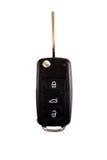 Black ignition key close-up Stock Photo