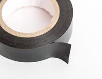 Black industrial tape Stock Photo