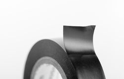 Black industrial tape Royalty Free Stock Images