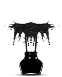 Black ink Royalty Free Stock Images