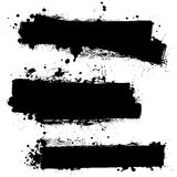 Black ink blank Stock Photography