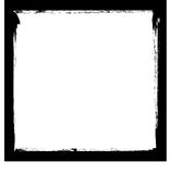 Black ink frame Royalty Free Stock Photo