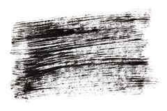 Black ink hatched texture Stock Photography