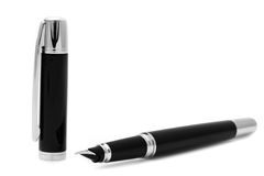 Black ink pen Stock Photos