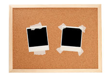 Black instant photos Royalty Free Stock Images