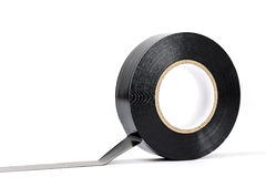 Black insulating tape Stock Image