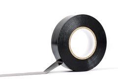 Black insulating tape Stock Image