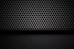 Black interior background Royalty Free Stock Photography