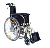 Black invalid wheelchair Royalty Free Stock Image