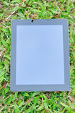 Black ipad 4 Royalty Free Stock Image