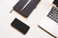 Black Iphone 5 Stock Photo