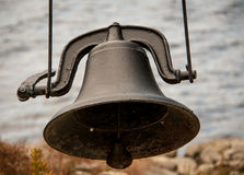 Black iron bell Royalty Free Stock Photos
