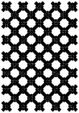 Black iron lattice Stock Photos