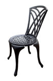 Black Iron Patio Chair Stock Images
