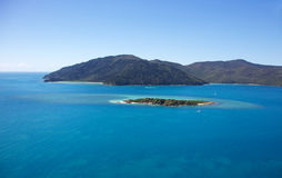 Black Island Bali Hai Reef Whitsundays Stock Image
