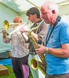 Black Isle Jazz Band Royalty Free Stock Photo
