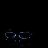 black isolerad anblickstudio arkivfoto