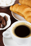 Black italian espresso coffee Royalty Free Stock Photos