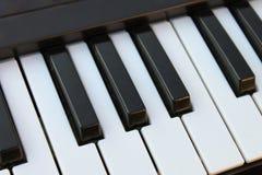 black ivory keys piano white Στοκ εικόνες με δικαίωμα ελεύθερης χρήσης
