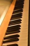 black ivory keys piano white Стоковые Фотографии RF