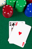Black jack Royalty Free Stock Image