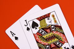 Black Jack Stock Photography