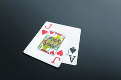 Black jack Illustrazione di Stock