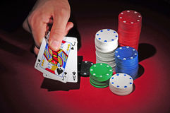 Black jack Stock Photos