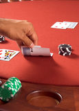 Black Jack Ace Royalty Free Stock Photography