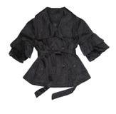 Black jacket. On a white background Stock Image