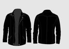 Black Jacket. Cool jacket for real man Stock Photos