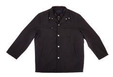 Black Jacket Isolated On White Stock Photos