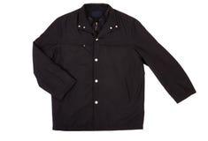 Black Jacket Isolated On White Royalty Free Stock Photo