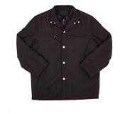 Black Jacket Isolated On White Royalty Free Stock Photos