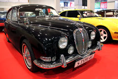 Black Jaguar S-Type (1963-1968) Royalty Free Stock Image