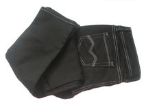 Black jeans Stock Images