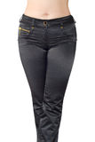 Black jeans Stock Photography