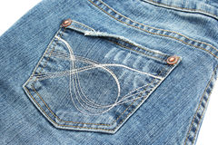 Black jeans royalty free stock photography